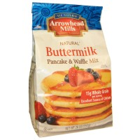 Arrowhead Mills, Natural Pancake and Waffle Mix, Buttermilk, 26 oz (737 g)