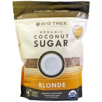 Big Tree Farms, Organic coconut sugar, light, 16 oz (454 g)