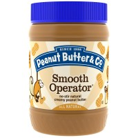 Peanut Butter & Co., Smooth Operator, Natural Peanut Butter, 16 oz (454 g)